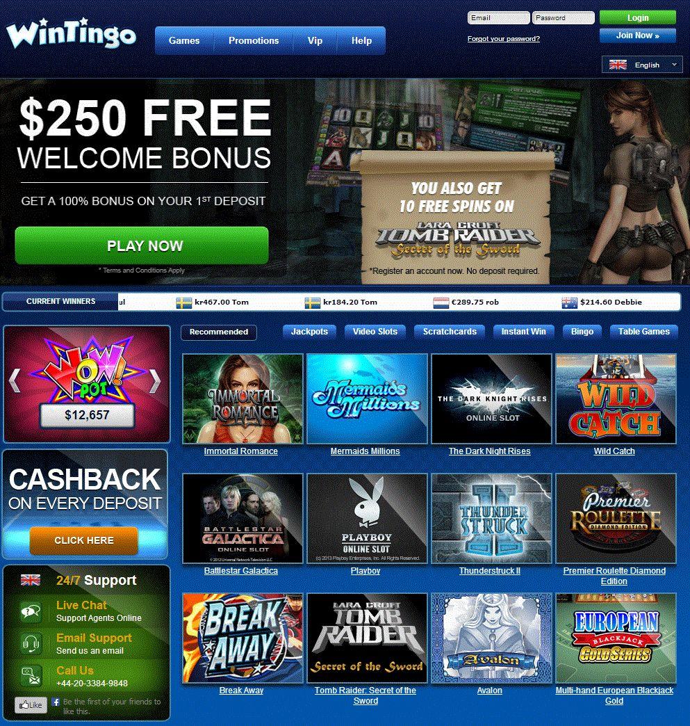 Wintingo Casino Download